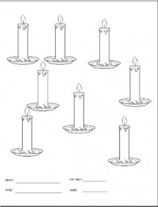 picture of candle target