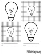picture of light bulb target